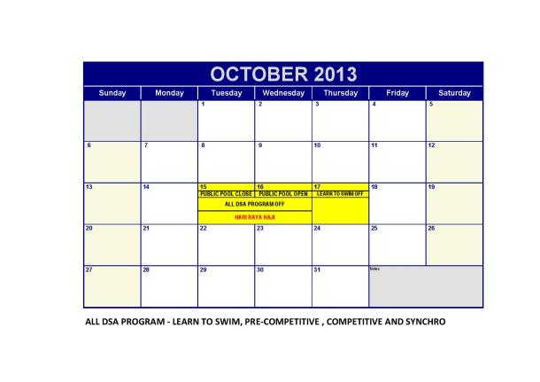 DSA 2013Monthly Calendar-BJ (Oct)