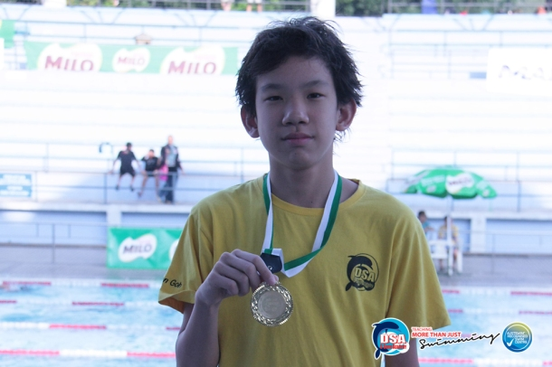 Sean Goh, DSA Swim team